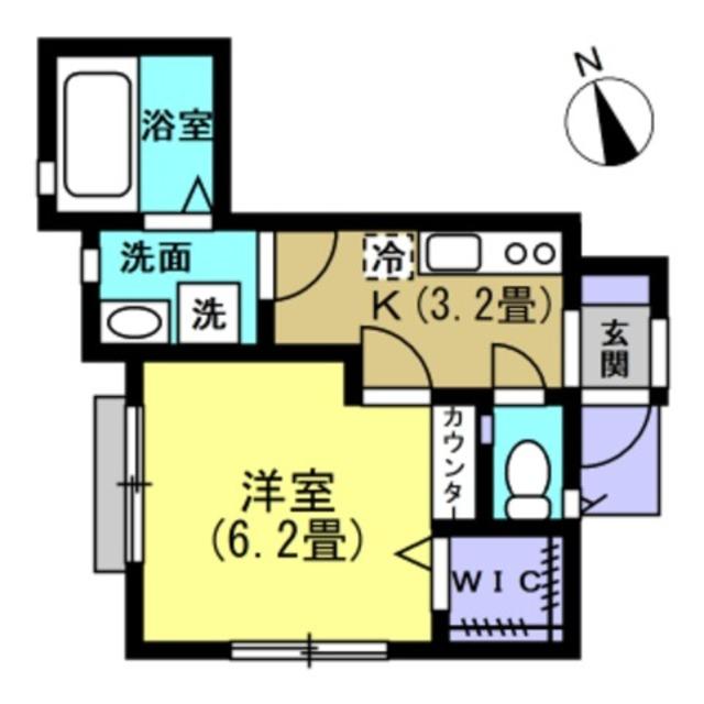 洋室6.2帖