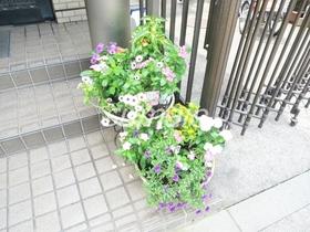 植栽が可愛らしいです♪