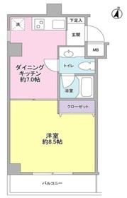 桜新町駅 徒歩10分2階Fの間取り画像