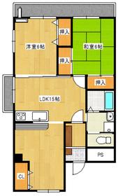 2LDK 62平米 5.5万円 愛媛県大洲市西大洲1306ー1