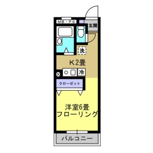 K2帖・洋室6帖