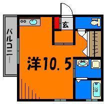 広々10.5帖のお部屋です☆