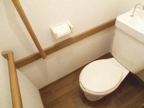 トイレはこの様になっております。