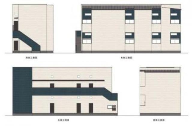 神戸市長田区御蔵通2丁目の賃貸アパート