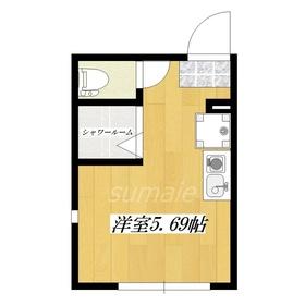 シャワー室ですが、5万円台の新築です。