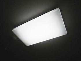 室内照明ついています。