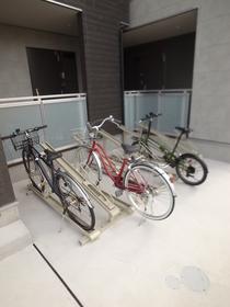 自転車はこちらに♪
