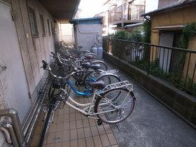 自転車はこちら☆