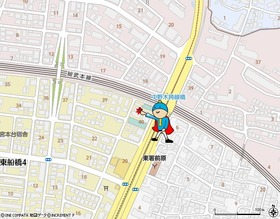東船橋駅から徒歩6分の好立地!!