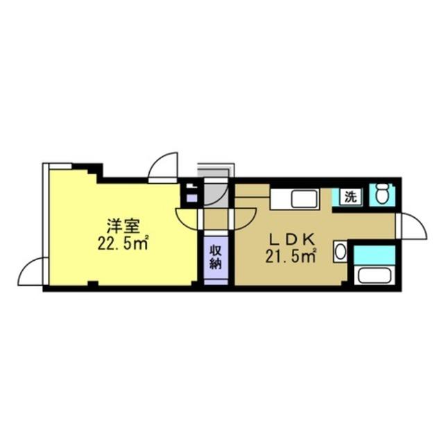 LDK13帖 洋室13.6帖