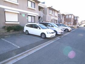 敷地内に駐車場もあります♪
