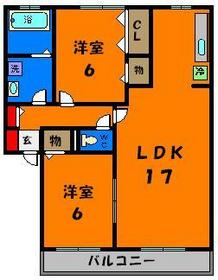 LDKが17帖もある広々空間です♪