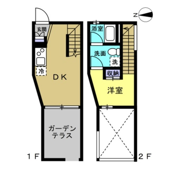 DK8.5帖 洋室5帖