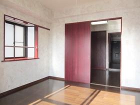 2面採光の角部屋で明るい室内です