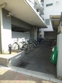 自転車置場はコチラ!