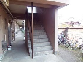 外階段です