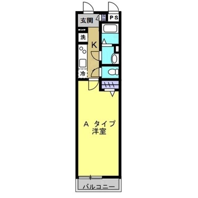 1K/洋室8.4帖