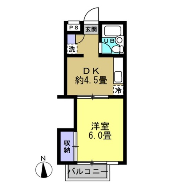 洋6帖 DK4.5帖