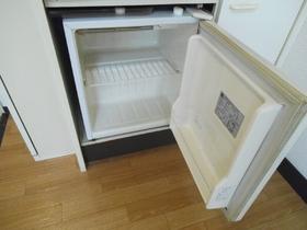 ミニ冷蔵庫つきです!