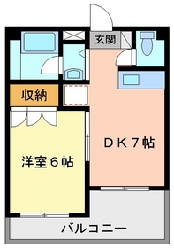 1DK 32平米 3.2万円 愛媛県松山市枝松4丁目2ー6