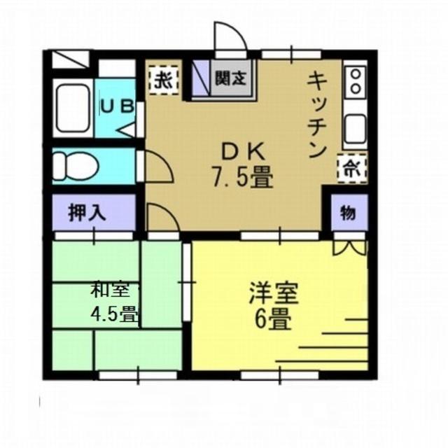 2DK DK7.5 洋6 和4.5