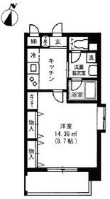 用賀駅 徒歩18分3階Fの間取り画像