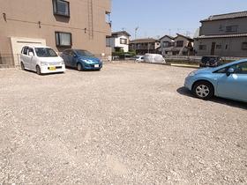 駐車場の敷地、メッチャ広い!!