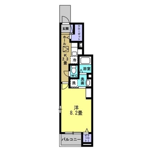 K2.3帖・洋室8.2帖