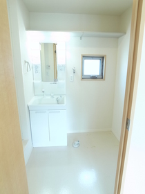 独立した洗面スペース
