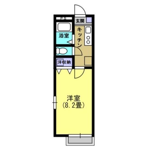 K2.7帖・洋室8.2帖
