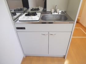 収納スペースもあるキッチンです!!
