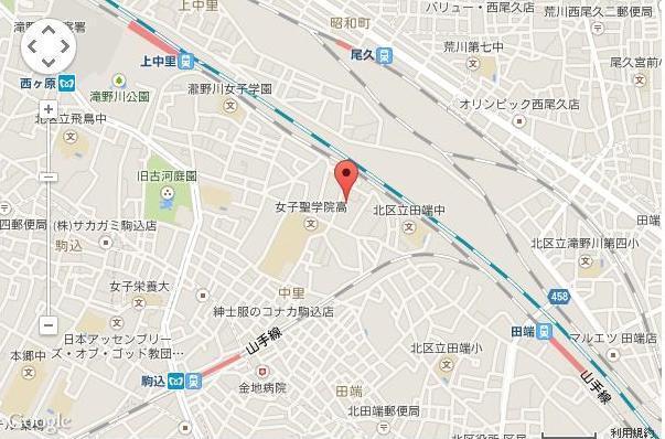 駒込駅徒歩8分
