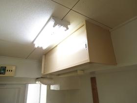 キッチン上部の収納です!