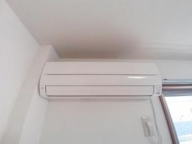 エアコンも設備となってます♪