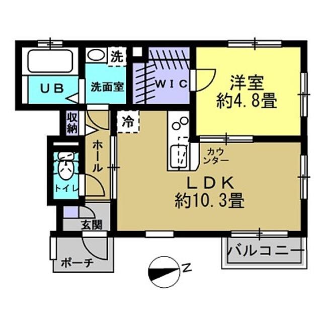 10.3帖LDK♪4.8帖洋室♪