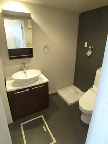 洗面スペースはこんな感じです♪