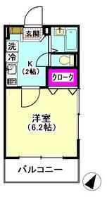 ラピュタ多摩川 201号室