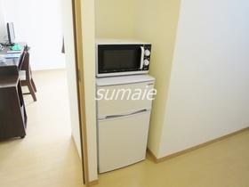 冷蔵庫・電子レンジ設置済み♪