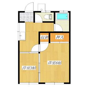 洋室に収納スペース2つあります!BT別で共に窓付です☆★