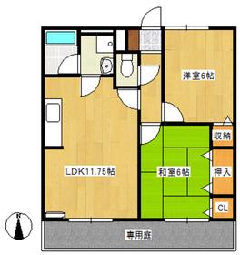 2LDK 53平米 4.7万円 愛媛県大洲市新谷甲230
