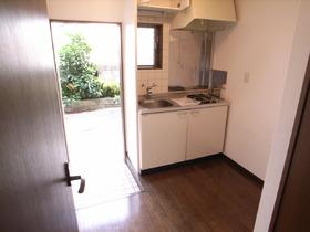 キッチンスペースも十分な広さですね♪
