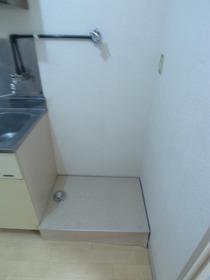 洗濯機はここ!