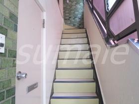 上階に繋がる階段です☆