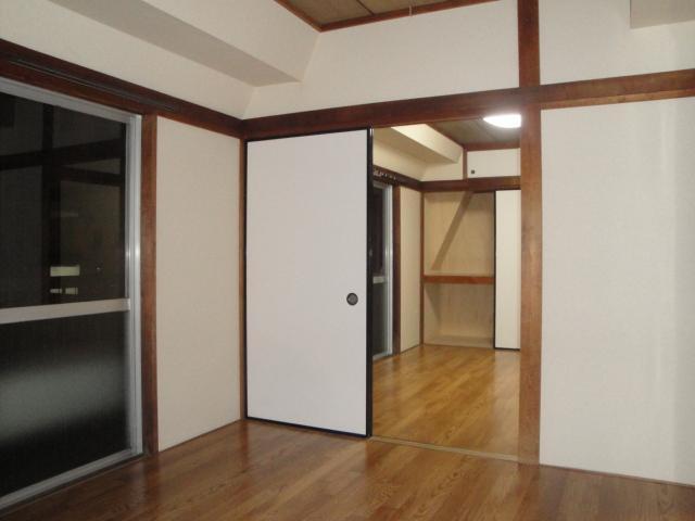清涼感ある和室です。
