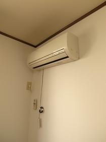 エアコンも付いてます!
