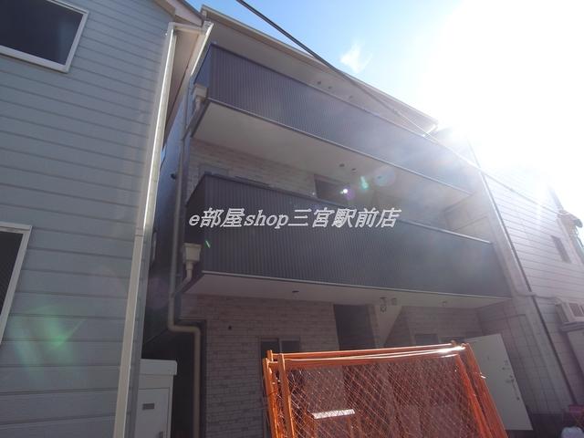 神戸市中央区東雲通4丁目の賃貸アパート