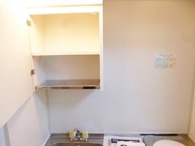 戸棚付きのキッチンです