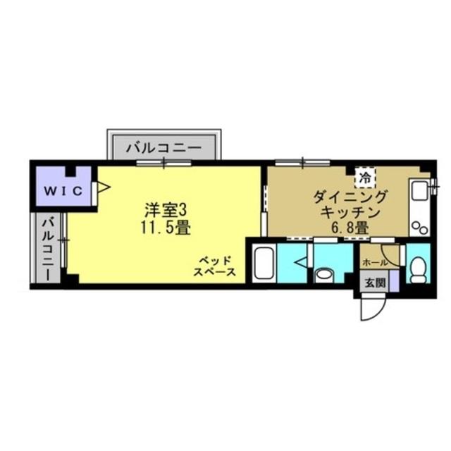 DK6.8帖 洋室11.5帖