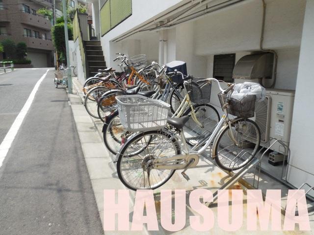 自転車置き場!