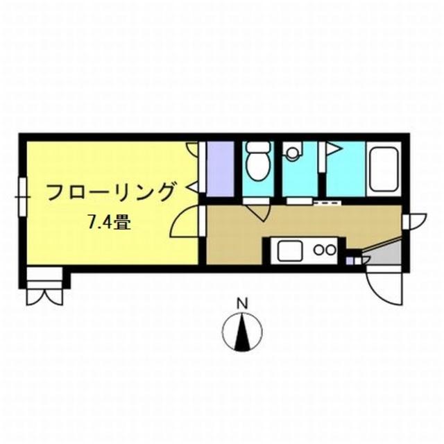 K4.1帖・洋室7.4帖